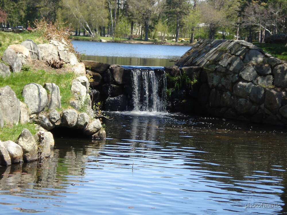 waterfall by photofanatic