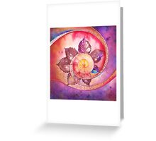 Mandala Of Creativity Greeting Card
