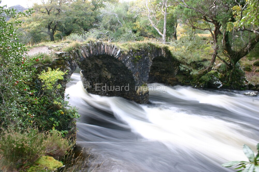 all just water under the bridge by Edward  manley