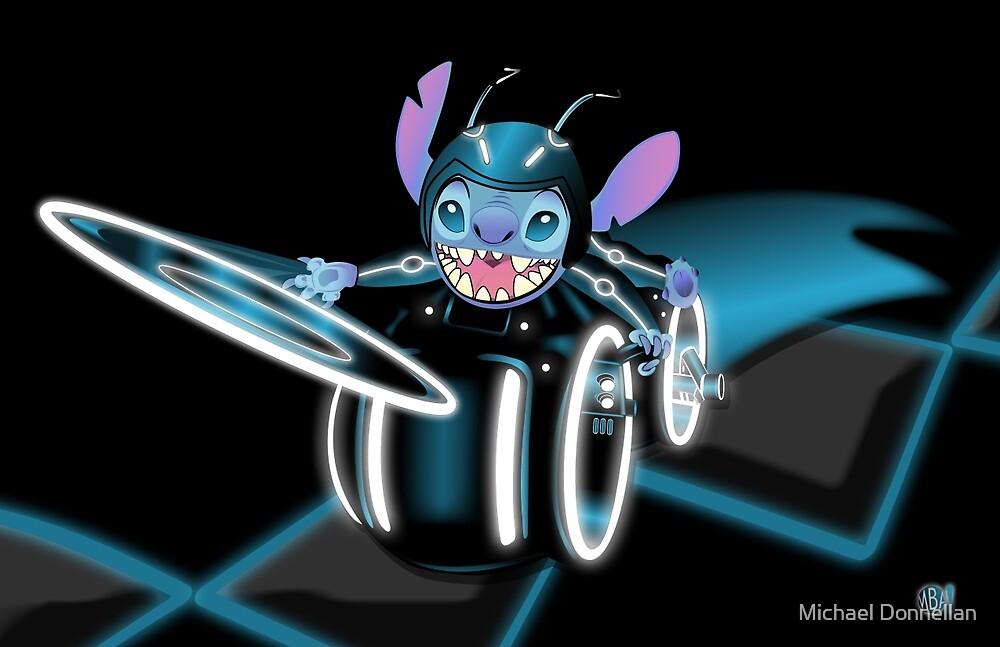 Tron Stitch by Michael Donnellan