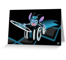 Tron Stitch Greeting Card