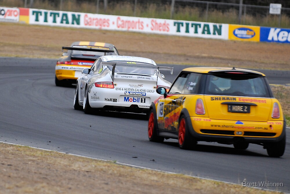 Follow The Leader - Queensland 500 by Brett Whinnen