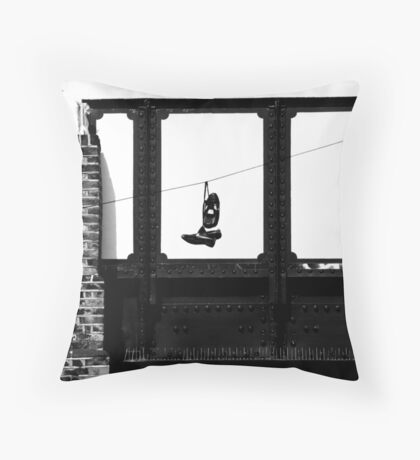 Laces and Wires Throw Pillow
