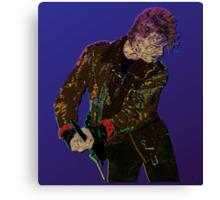 Bowie Guitar 1 Canvas Print