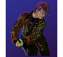 Bowie Guitar 1 Photographic Print