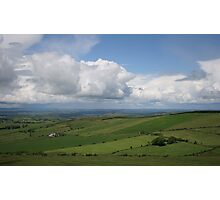 view over northern cork Ireland Photographic Print