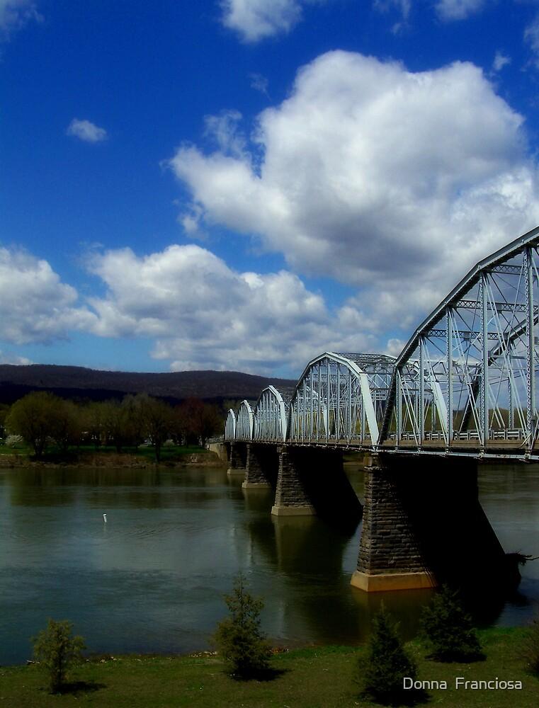 I'll Cross That Bridge..... by Donna  Franciosa