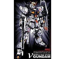 Nu Gundam Photographic Print