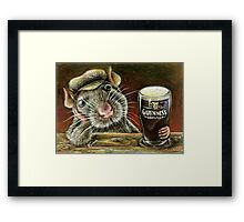 Paddy the rat Framed Print