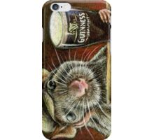Paddy the rat iPhone Case/Skin