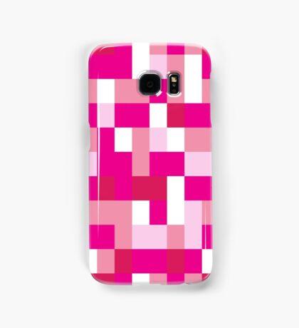 Pink Blocks Samsung Galaxy Case/Skin
