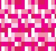 Pink Blocks by ArtfulDoodler