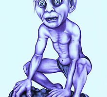 Gollum - Lord of the Rings by Margaret Sanderson