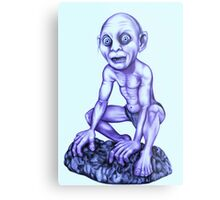 Gollum - Lord of the Rings Metal Print