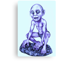 Gollum - Lord of the Rings Canvas Print