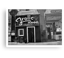 A Bar for Frolickers Metal Print