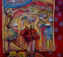 interior with landscape 1 by kjarts