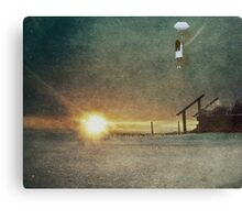 The Trick is to Keep Breathing Canvas Print