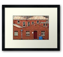 Griffiths Book Store,Geelong Framed Print