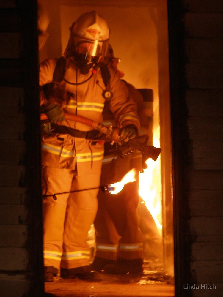 Fire Fighter  by Linda Hitch