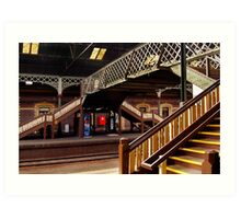 Geelong Railway Station Art Print