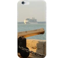 Celebrity Eclipse passing Cowes iPhone Case/Skin