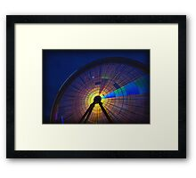 Finding Light Framed Print