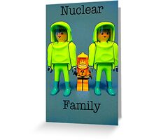 Nuclear family Greeting Card