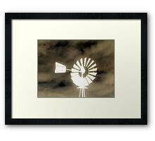 Southern Winds Framed Print