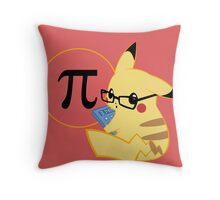 Pi-kachu V. Coloured 2 Throw Pillow