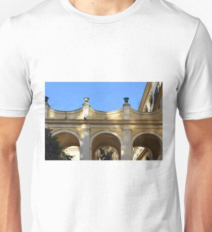 Arched architecture in Spain Unisex T-Shirt