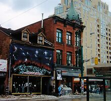 City of Angels (Queen West & Spadina, Toronto, Ontario, Canada, March 2007) by Edward A. Lentz
