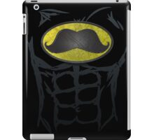 MustacheMan - Funny Comic Book Super Hero iPad Case/Skin