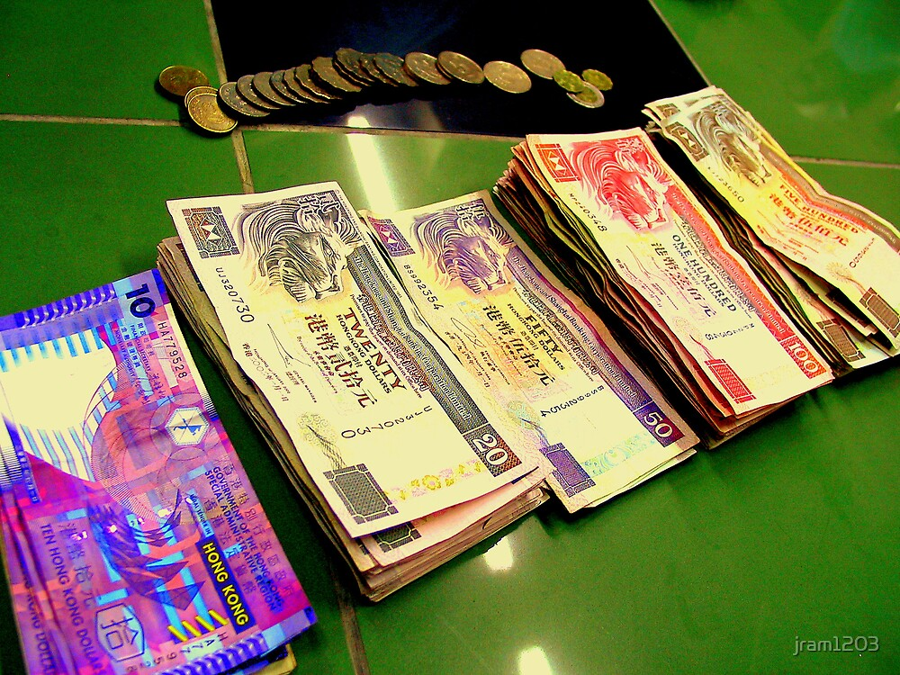 Money HK by jram1203