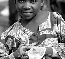 Boy in Congo by rebecca zachariah