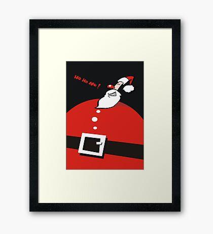 ho ho ho Framed Print