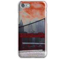 Gotham Awaits iPhone Case/Skin