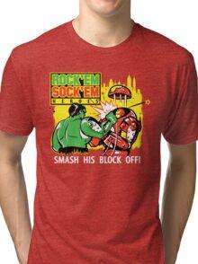 ROCK EM' SOCK EM' HEROES Tri-blend T-Shirt