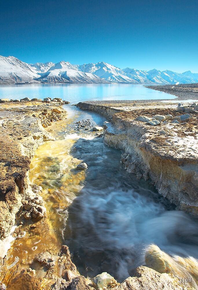 Lake Pukaki Cold by Neil