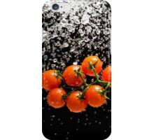 Cherry Tomato Splash 1 iPhone Case/Skin