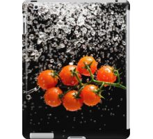Cherry Tomato Splash 1 iPad Case/Skin