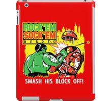 ROCK EM' SOCK EM' HEROES iPad Case/Skin
