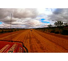 Outback Emu Photographic Print