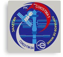 Soyuz TMA-1 Canvas Print
