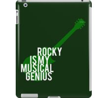 musical genius iPad Case/Skin