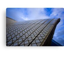 roof detail of Sydney Opera House  Canvas Print