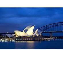 Sydney Opera House before dawn  Photographic Print