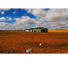 Shearers Quarters, Olive Downs Photographic Print