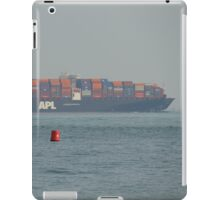 APL Container Ship Passing Ryde iPad Case/Skin