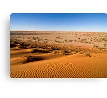 Simpson Sand Dune Canvas Print